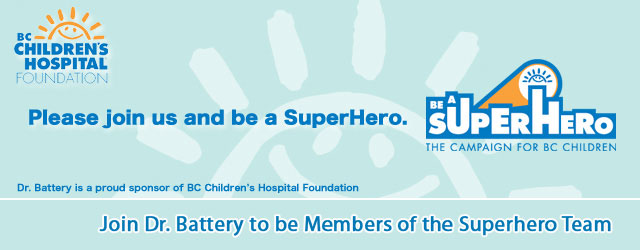 Join Dr. Battery to be members of the Superhero team