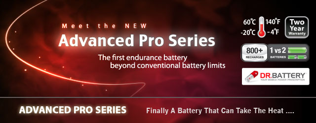 Dr Battery Advanced Pro Series